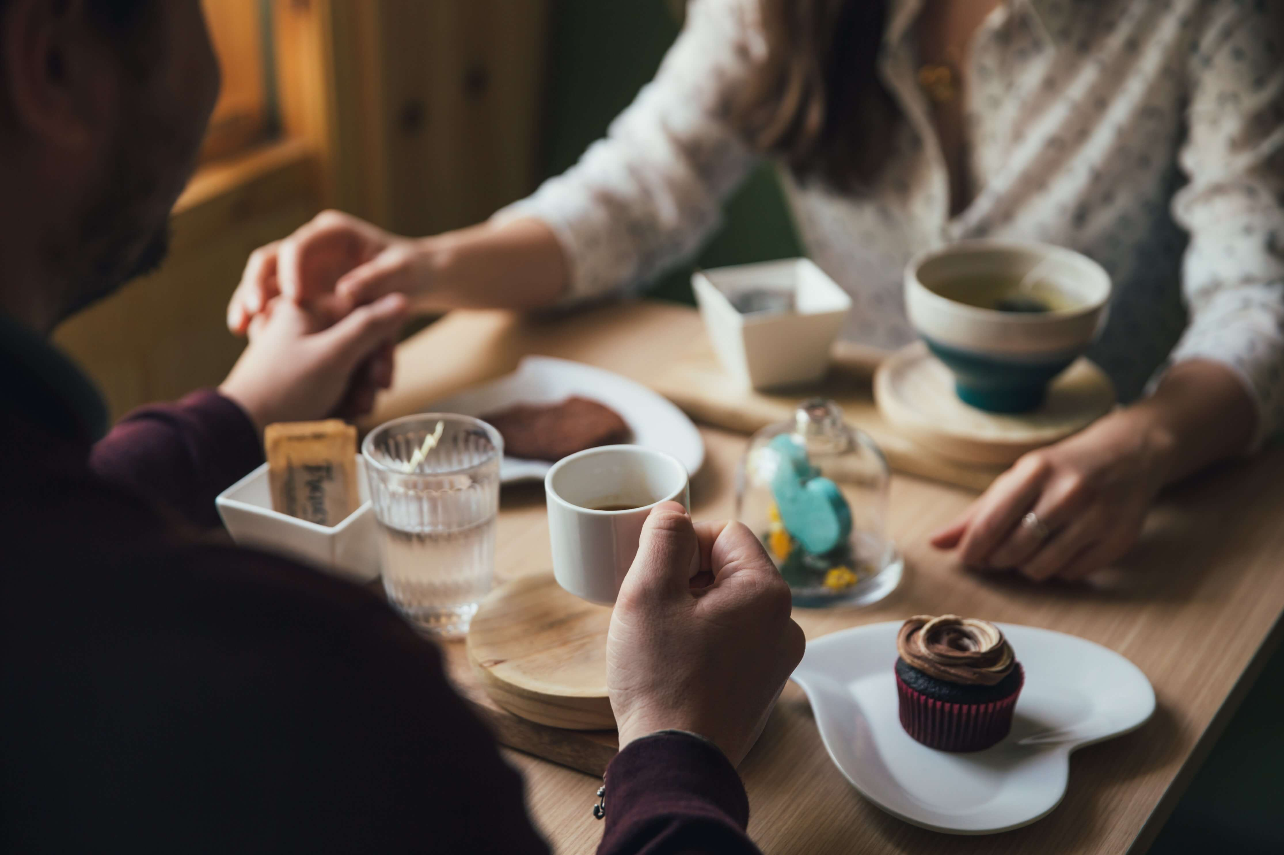 Spokojený vztah snídaně
