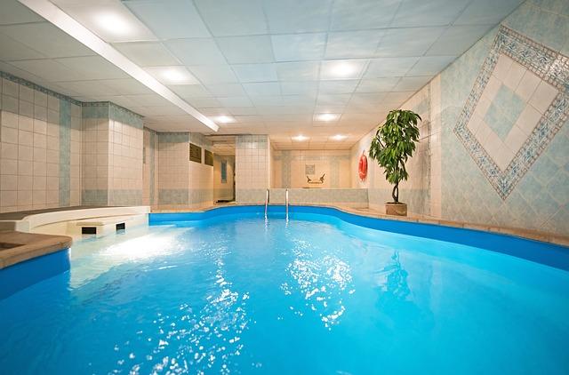 sauna u bazénu
