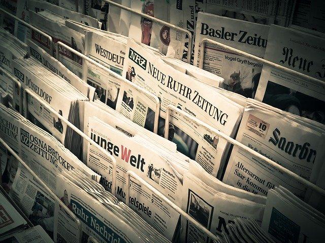 Noviny, tisk, informace