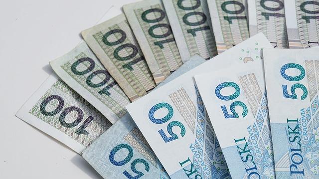 polské bankovky