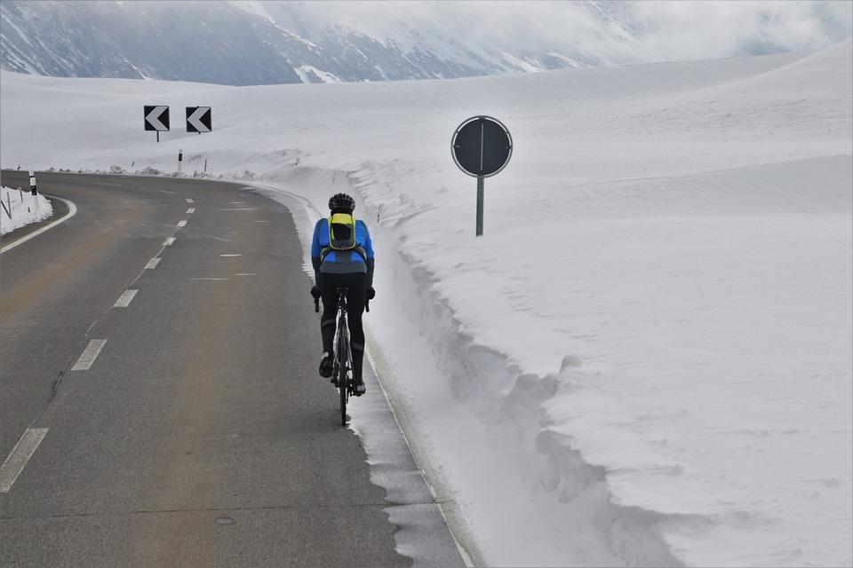jízda zimní podmínky